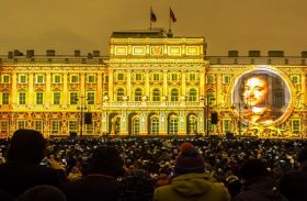 Festival of Light in St. Petersburg
